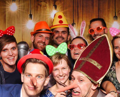 Photobooth verjaardagsfeest